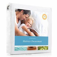 Linenspa Zippered Encasement Waterproof, Dust Mite Proof, Bed Bug Proof,