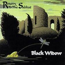 BLACK Widow-Return to the Sabbat CD NUOVO OVP