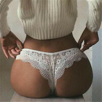 Women's Sexy Lace Panties Lingerie Underwear Thongs Knickers Briefs G-string