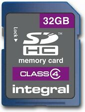 INTEGRAL 32GB PRO SDHC 20MB/S CLASS 10 MEMORY CARD FAST SPEED SD CARD