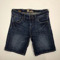 Kut From The Kloth Women's Denim Jean Bermuda Shorts Size Stretch Blend Casual