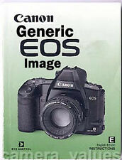 EOS EF-M Instruction Manual, More Canon Books Listed
