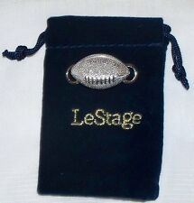 NEW 925 sterling silver LeStage football convertible clasp made U.S.A. USA