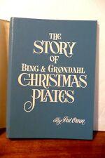 Story of Bing & Grondahl Christmas Plates Book, 3 Ring Binder, Dust Jacket, Owen