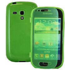Funda Cartera Tipo libro VERDE Samsung Galaxy S3 mini i8190/ i8200