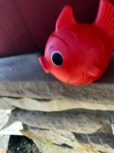 (S8) VINTAGE SOAKY - GREAT CONDITION - RED FISH