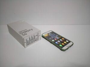 Samsung Galaxy S6 G920F 64GB libre blanco + protector - COMO NUEVO!!!