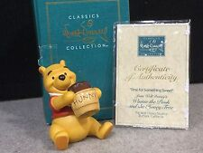 "WDCC Disney Classic Collection Winnie the Pooh  ""Time for Something Sweet"" 1996"