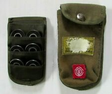 6 Black Panthers Abec-5 Bearings In Army Green Canvas Belt Case