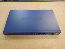 Netgear ProSafe FS728TP Network Switch 24-Port SEE NOTES