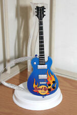 Barbie Hard Rock Cafe,Blue Guitar for Diorama,Newly De-Boxed