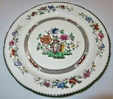 """Copeland Spode CHINESE ROSE 629599 Green Trim Floral, Round Chop Plate, 12 5/8"""""""