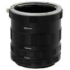 Fotodiox Macro Extension Tube Set for Sony Alpha A-Mount DSLRs for A350 A300 ...