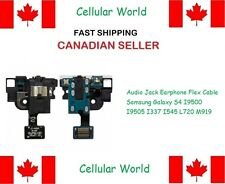 Audio Jack Flex Cable Samsung Galaxy S4 I9500 I9505 I337 I545 L720 M919 - 6001