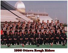 Cfl 1996 Ottawa Rough Riders Color Team Picture 8 X 10 Photo Picture