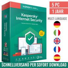 Kaspersky Internet Security 2021 - 5 Geräte - 1 Jahr - inkl. Antivirus