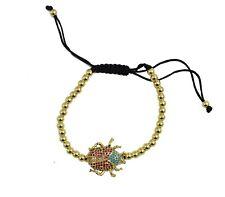 Beetle Bracelet 18k Gold Plated Jewelry Chain - Beetle Adjustable Bracelet