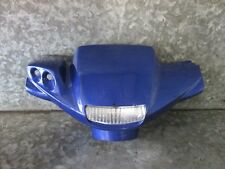 YAMAHA BWS CW 50CC 2T 2001 HANDLE BAR CLOCK PANEL FAIRING BLUE (48)