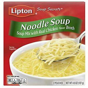 Lipton Soup Secrets Instant Soup Mix Soup Noodle Soup Real Chicken Broth Flavor