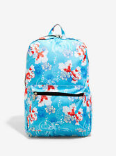 LoungeFly Pokemon Goldeen Lotus Flower Print Backpack - Official Licensed Merch