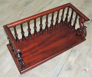 Freestanding Ornate Wooden Bookshelf by The Libra Company