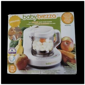 Baby Brezza Baby Food Maker Machine One Step Steamer Blender Puree New in Box