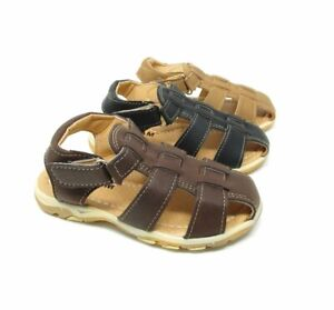 Boys Kids New Summer Beach Casual Touch Strap Comfort Sports Sandals Shoes Size