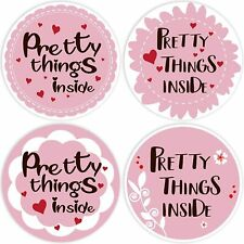 PRETTY THINGS INSIDE Stickers Labels Craft Gift Purchase Business Handmade Order