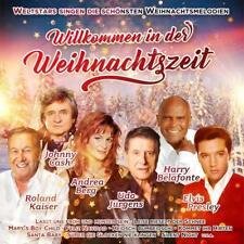 WILLKOMMEN IN DER WEIHNACHTSZEIT - ANDREA BERG/ROLAND KAISER/+ 2 CD NEW!
