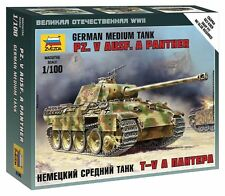 Zvezda 1/100 German Panther Ausf.A Medium Tank Z6196