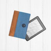 Faux Suede and Denim Case Cover eReader Kobo Nia Forma Libra Aura Clara HD H2O