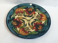 moorcroft 21.5cm ltd edition 1999 year plaque