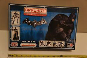 2014 Batman Arkham City Level 3 Sprukits Model Kit Bandai DC Comics 161 Pieces