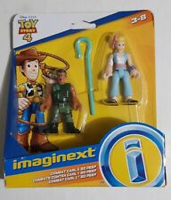 Disney Imaginext Toy Story 4 Combat Carl & Bo Peep 2 Pack New