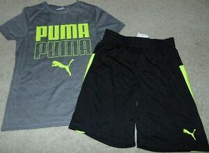 ~NWT Boys PUMA Neon Outfit! Size 6 Nice:)!