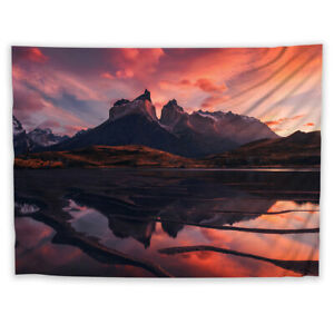 Landscape Scenery Trippy Tapestry Wall Art Poster Hanging Cover