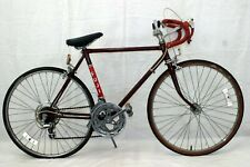 "Fuji Vintage Touring Bike XS 48cm 24"" Dia-Compe Suntour Japan Made Steel Charity"