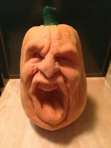 Halloween Foam Screaming Pumpkin head