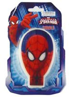 SPIDERMAN CANDLE BIRTHDAY PARTY SUPPLIES