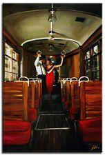Jack Vettriano - 90x60cm Ölgemälde Handgemalt Leinwand Signiert G01914