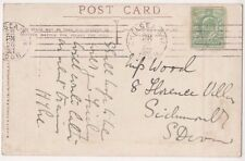 Chelsea 1908 Machine Postmark on Exhibition Postcard, B589
