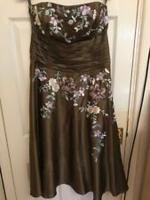 Olive Monsoon Dress Size UK 14 Wedding, Cruise, Prom, Party