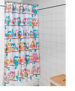 puntos blu, 110 x 200 anti-muffa ganci inclusi design moderno e moderno impermeabile Zethome lavabile in lavatrice in poliestere di alta qualit/à Tenda da doccia in tessuto originale
