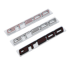 1x Metal Alloy GT500 Coupe Emblem Decal Rear Badge for Mustang GT Shelby Cobra