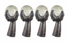Cast Iron Furniture Claws Legs with Round Glass Ball
