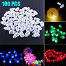 100,50pcs LED Lamp Lights Balloons for Paper Lantern Balloon Birthday Christmas