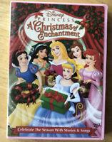 Disney Princess - A Christmas of Enchantment DVD Movie