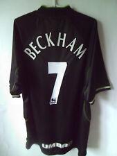 BECKHAM !!! 1998-99 Manchester United Third Shirt Jersey Trikot XXL