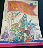 RINGLING BROS AND BARNUM & BAILEY CIRCUS PROGRAM VINTAGES 1969 99th EDITION