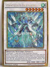 YU-GI-OH - 1x polvere stelle-attacco guerrieri-pgl3-PREMIUM ORO SERIE 3